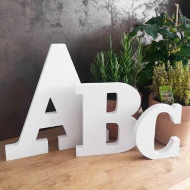 3D Letter Bodoni