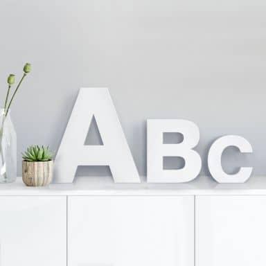 3D Letter Swiss