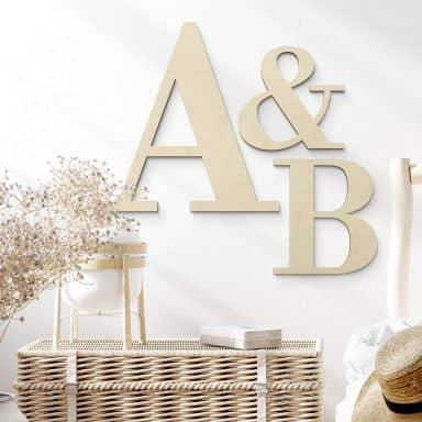Wooden Letters Bodini