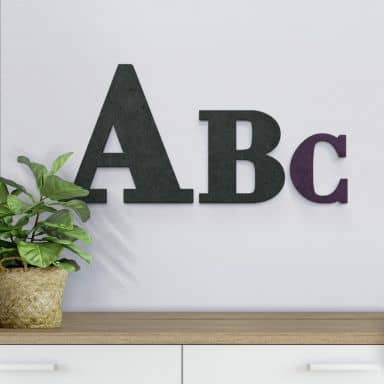 Decorative letters up to 80 cm high - Bodoni