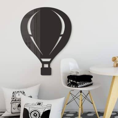 Acryldeko Heißluftballon