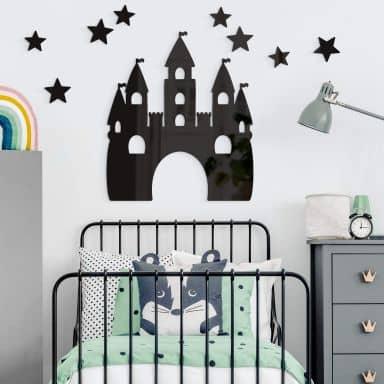 Wanddecoratie Prinsessen Kasteel