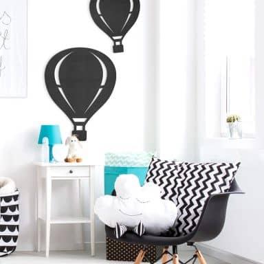 MDF - Holzdeko - Heißluftballon
