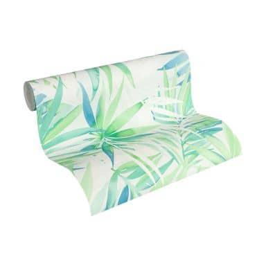 Designdschungel by Laura N. non-woven wallpaper blue, green