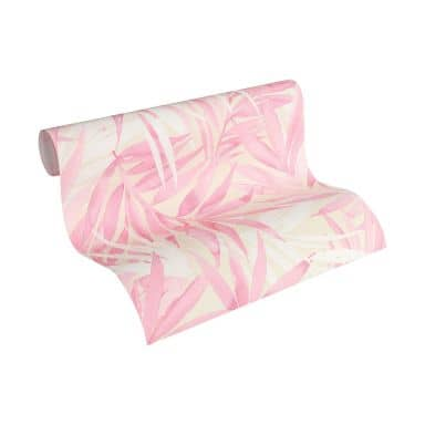 Designdschungel by Laura N. behang beige, roze, wit