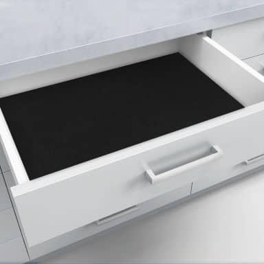 Schubladenfolie selbstklebend schwarz