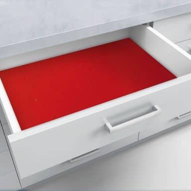 Schubladenfolie selbstklebend rot