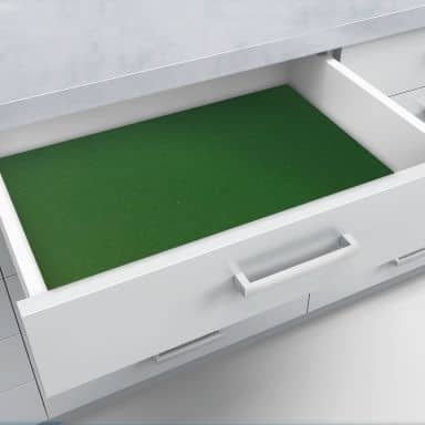 Schubladenfolie selbstklebend grün