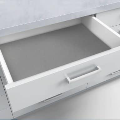 Schubladenfolie selbstklebend grau