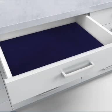 Schubladenfolie selbstklebend blau