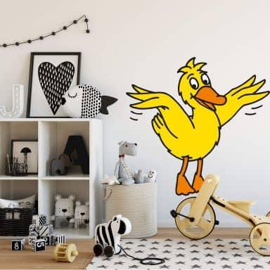 Wandtattoo Die Ente 2