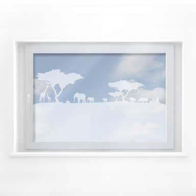 Fensterdekor Afrika