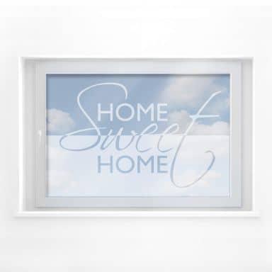 Decoro per finestra Home Sweet Home