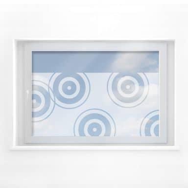 Decoro per finestra - Cerchi rétro