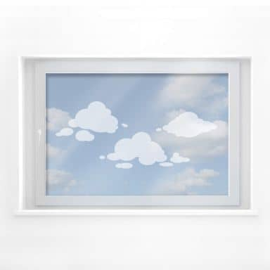 Frosted Glass - Clouds