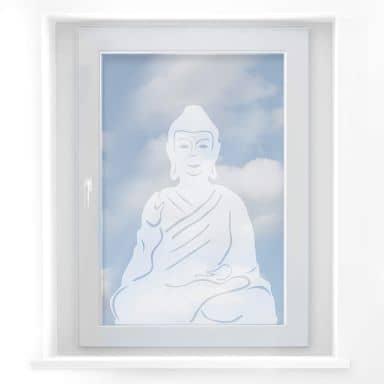 Decoro per finestra - Buddha