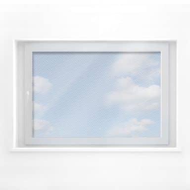 Fensterdekor - Diagonalen (klassisch)