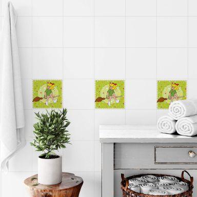 Bibi Blocksberg Witch Effect - Tile stickers