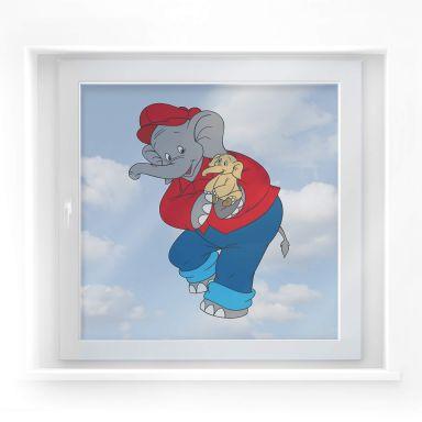 Benjamin als babyolifantje