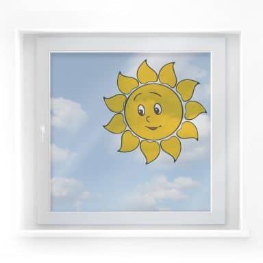 Fensterbild Liebe Sonne
