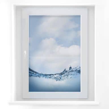 Adesivo per finestra -Flusso d'acqua