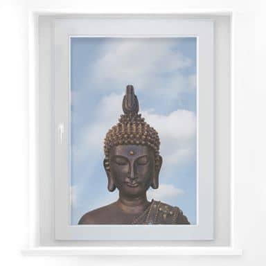 Fensterbild Buddha der Weise