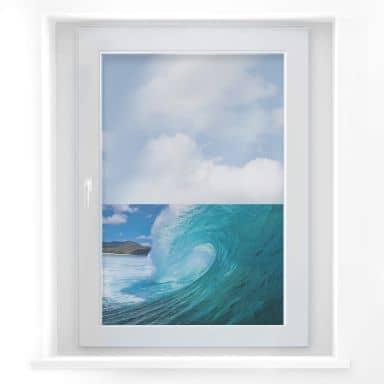 Window sticker Wave