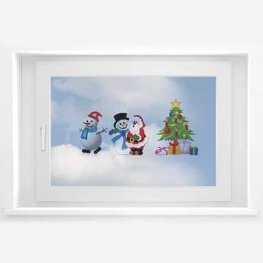 Raamstickers: Kerstmis Set 2