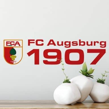 Wandtattoo FC Augsburg 1907