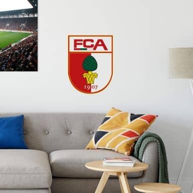Wandtattoo FC Augsburg Logo