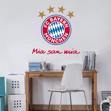 Muursticker Bayern München - Mia San Mia
