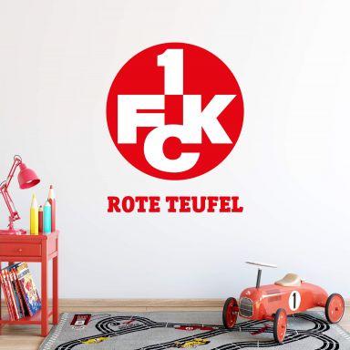 Wandtattoo 1.FC Kaiserslautern Rote Teufel