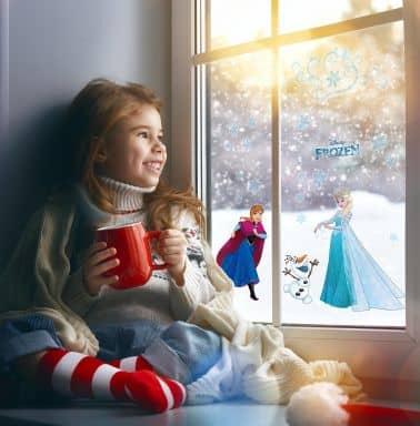 Fenstersticker Disney Die Eiskönigin Schneeflocke