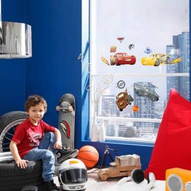 Fenstersticker Disney Cars 3 14-teilig