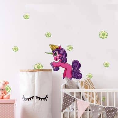 Wandtattoo Filly Unicorn Friendship Alvara