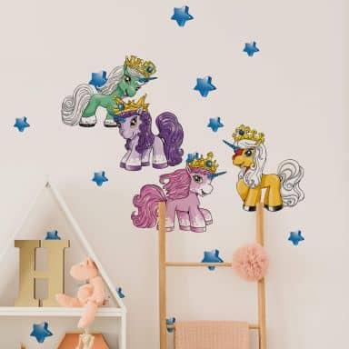 Muursticker Filly Unicorn - Dreams Set