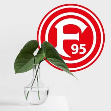 Wandtattoo Fortuna Düsseldorf Logo