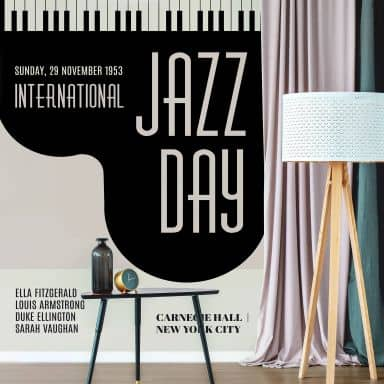 Fototapete Kubistika - Jazz Day