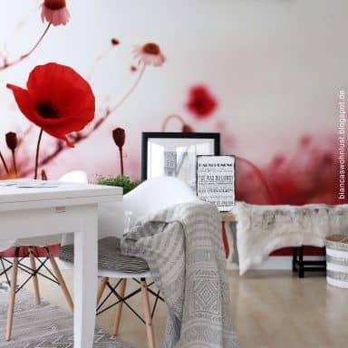 Poppy Impressions - Photo Wallpaper