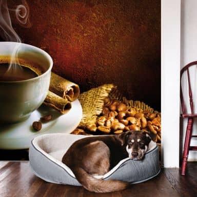 Fototapete Coffee 1 - 288x260 cm