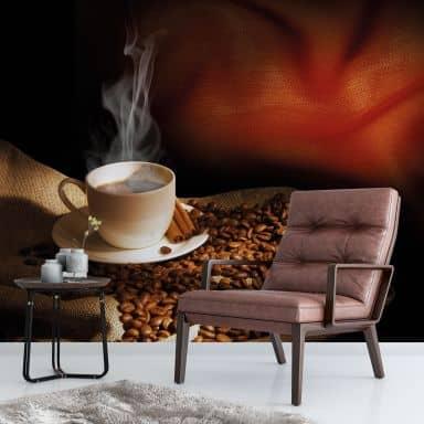 Fototapete Coffee 3 - 288x260 cm