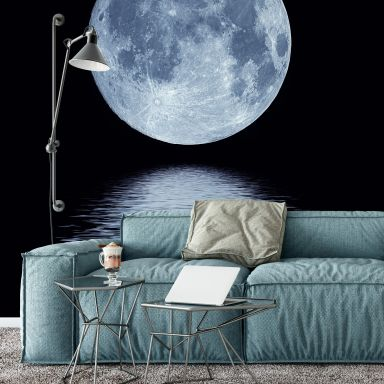 Fototapete Moon - 240x260 cm