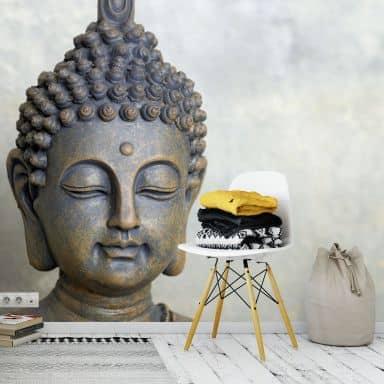 Face of Buddha - Photo Wallpaper