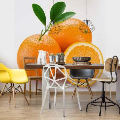 Fototapete Oranges - 240x260 cm