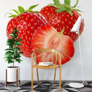 Strawberries - Photo Wallpaper