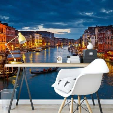 Fototapete Canal Grande in Venedig - 336x260 cm