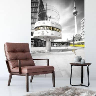 Fototapete Berlin Alexanderplatz - 144x260 cm