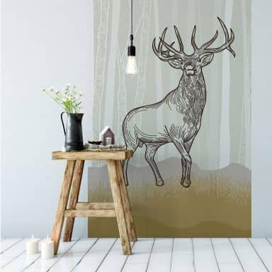 Fototapet - Proud Deer