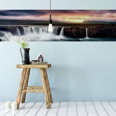 Fototapete Mitterwallner - Fire and Water - Panorama