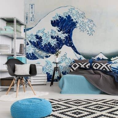 Papier peint photo Hokusai - La Grande Vague de Kanagawa